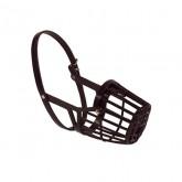 Bozal cesta plástico negro T.6