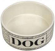 Dog Bowl Negro Grande