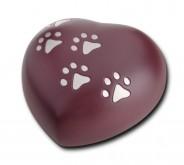 Urna corazón perro y gato HUH 013 S