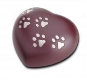 Urna corazón perro y gato HUH 013 M