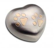 Urna corazón perro y gato HUH 015 S
